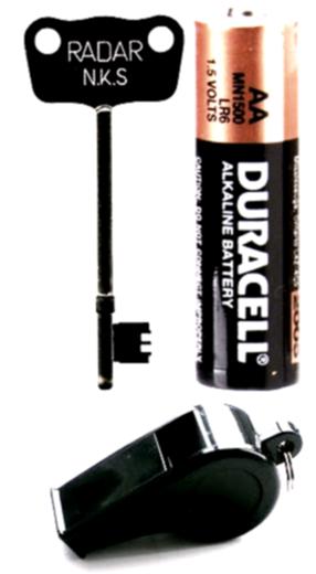 Batteries, Lanterns, Keys & Misc