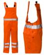 Orange Hivis Bib And Brace