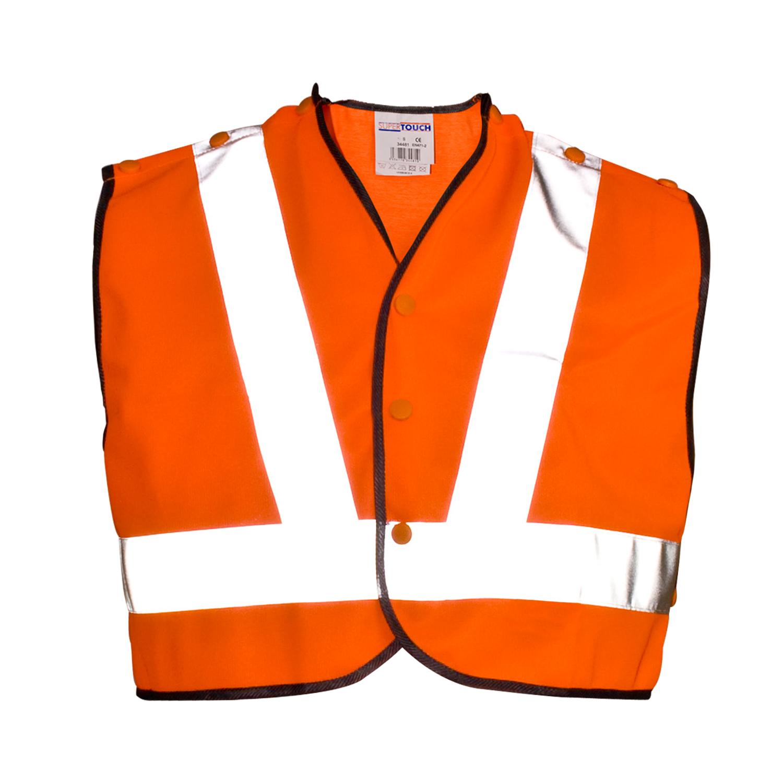 Orange Mini Waistcoat HV1V