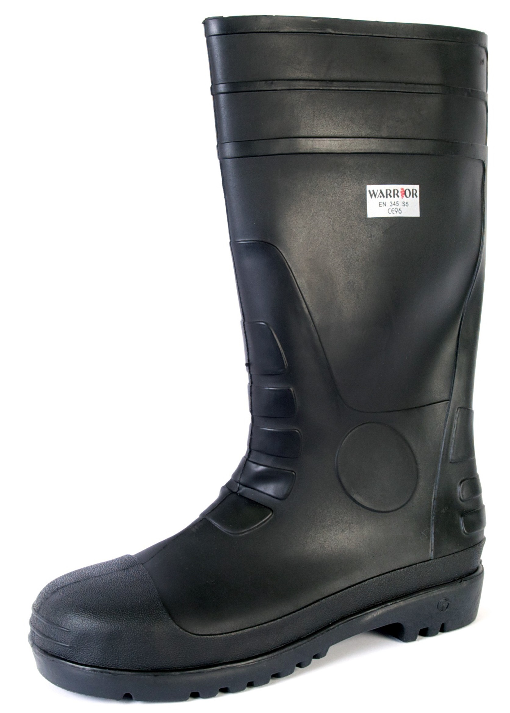Black Safety Wellington Boot
