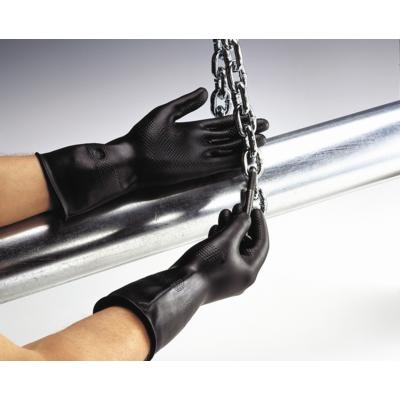 Black Jet Fleece Lined Glove