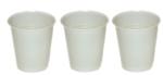 Vending Cup - 7Oz White Squat Ref: Pk7/Bp302 - Plastic