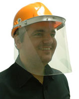 Polycarbonate Sv9Pc Visor  (Impact Protection)