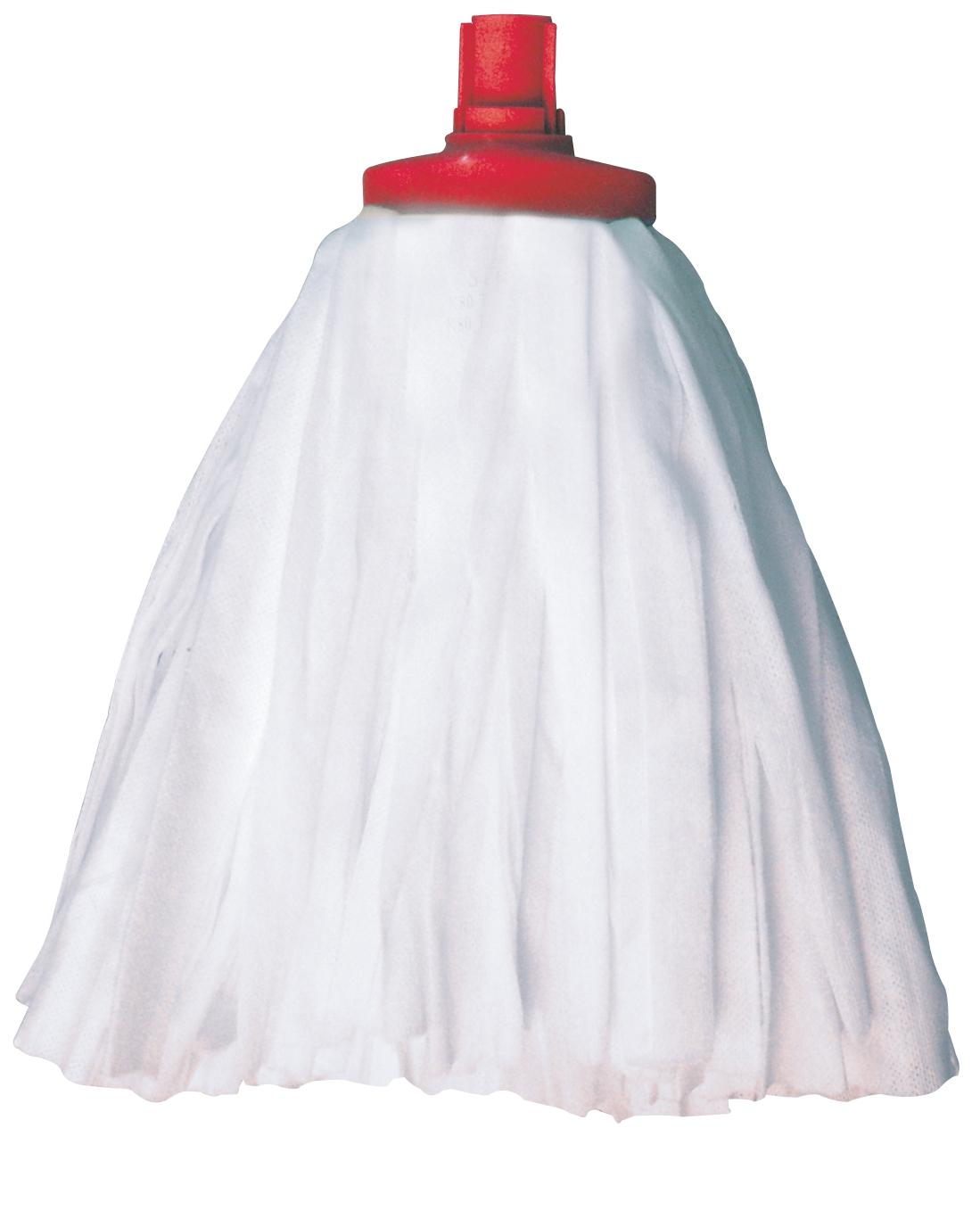 Spun Lace Mophead Midi Red Socket 005/104037