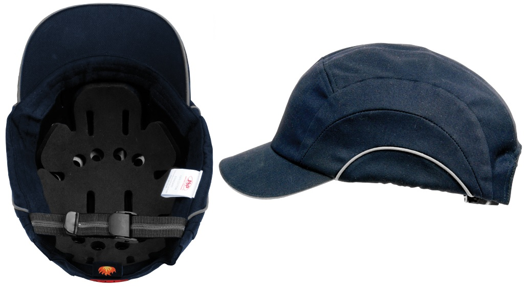 Baseball Style Bump Cap - Navy To En812 Cat:44/150055