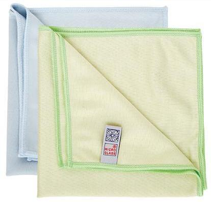 Glass Microfibre Cloths Green Window & Glass Cat: 36/107224