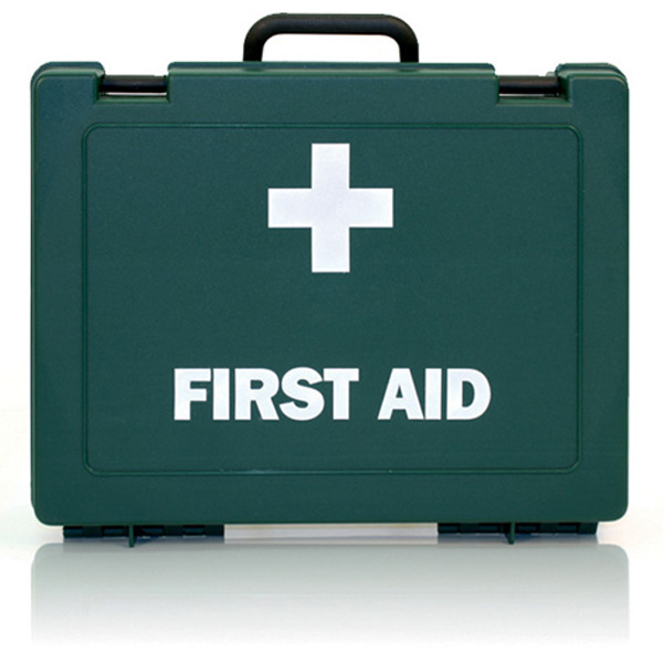 First Aid Box Green Empty Plastic For Stations 34/1766