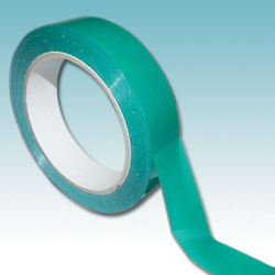 9mm x 66m Green Vinyl Tape