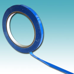 9mm x 66m Blue Vinyl Tape