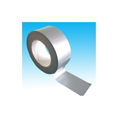 50mm x 50m Silver PE Coated Cloth Tape