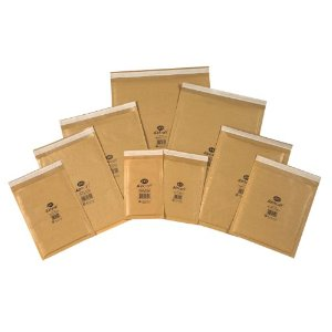 Jiffy Padded Gold Envelopes Size: 7 Boxed 50's