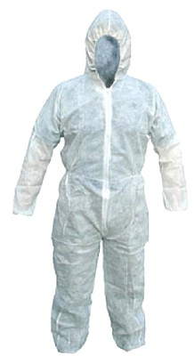 White Disposable Boilersuit A20 9519 XXL Cat:44/40155