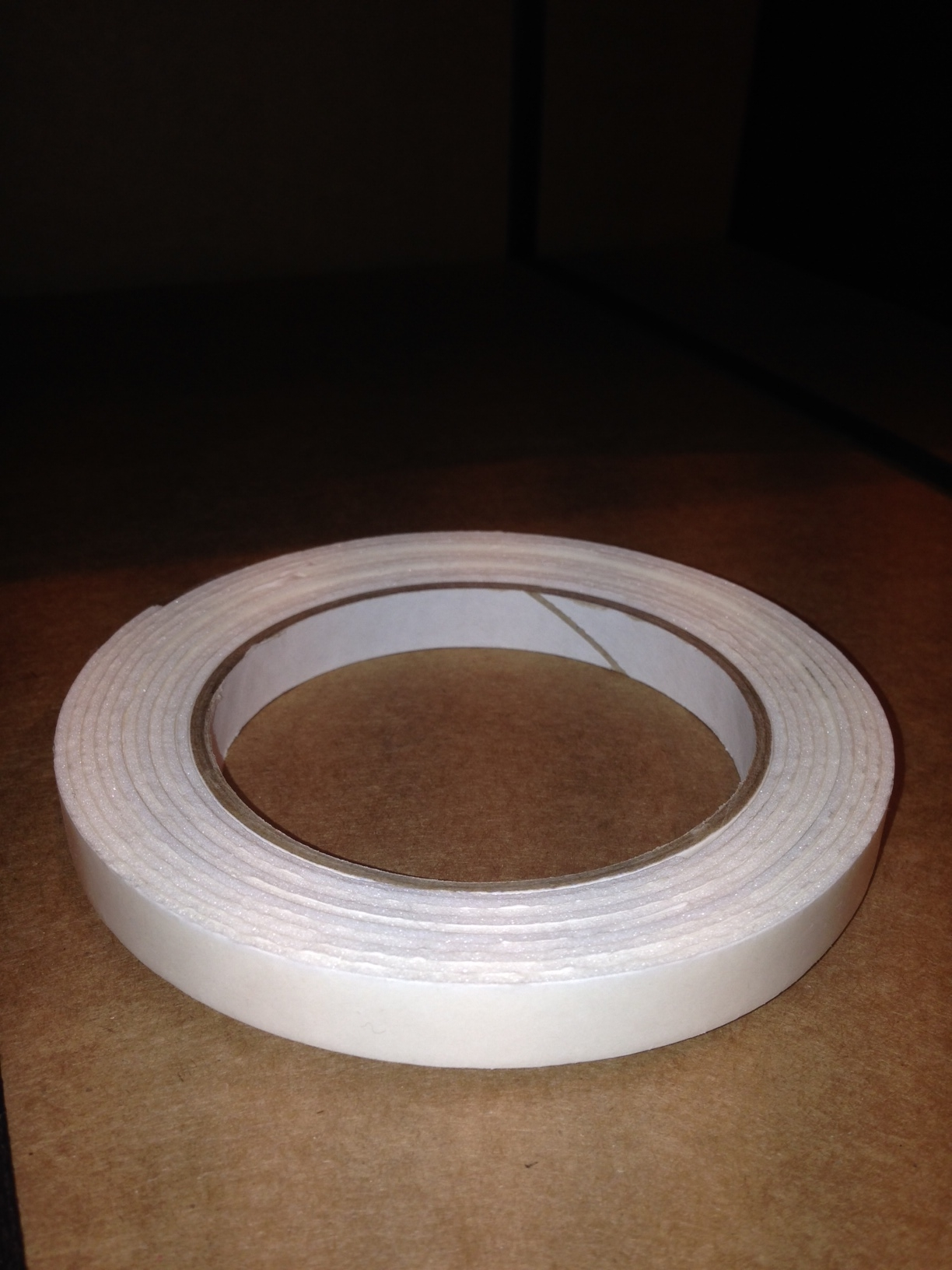 12mm x 1.5mm x 3m D/S Foam Fixing Tape (White)