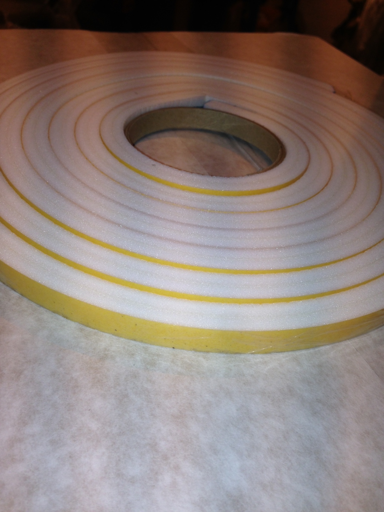 12mm x 12mm x 4m - CO 2836 Foam Sealing Tape S/S Ras76101