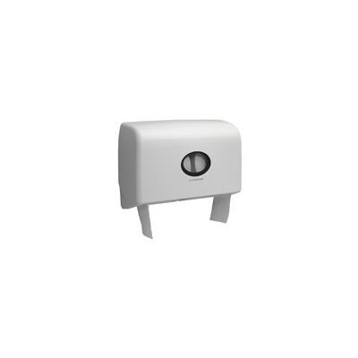 Aquarius Dispenser - 6947 Twin Mini Jumbo Toilet Roll