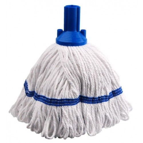 Exel Revolution Mop Heads Blue Socket/Blue Band (Freedom