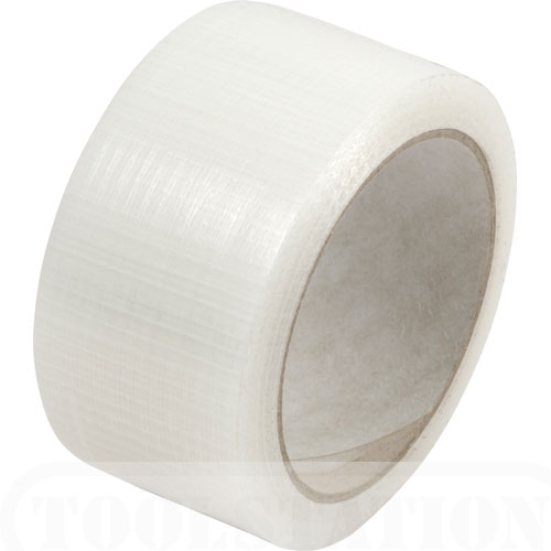 50mm x 20m Clear PE Coated Cloth Tape
