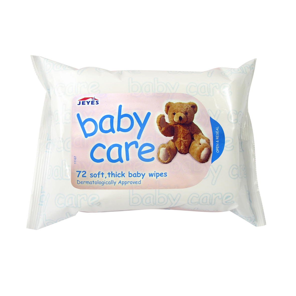 Jeyes Baby Wipes- 72 Wipes Per Pack.12 Packs Per Box