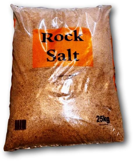 Rocksalt 25Kg Bag Cat:7/58859 Brown