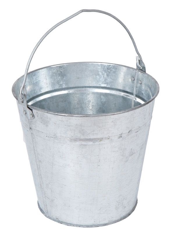Galvanised Steel Bucket 12Ltr. Without Wringer