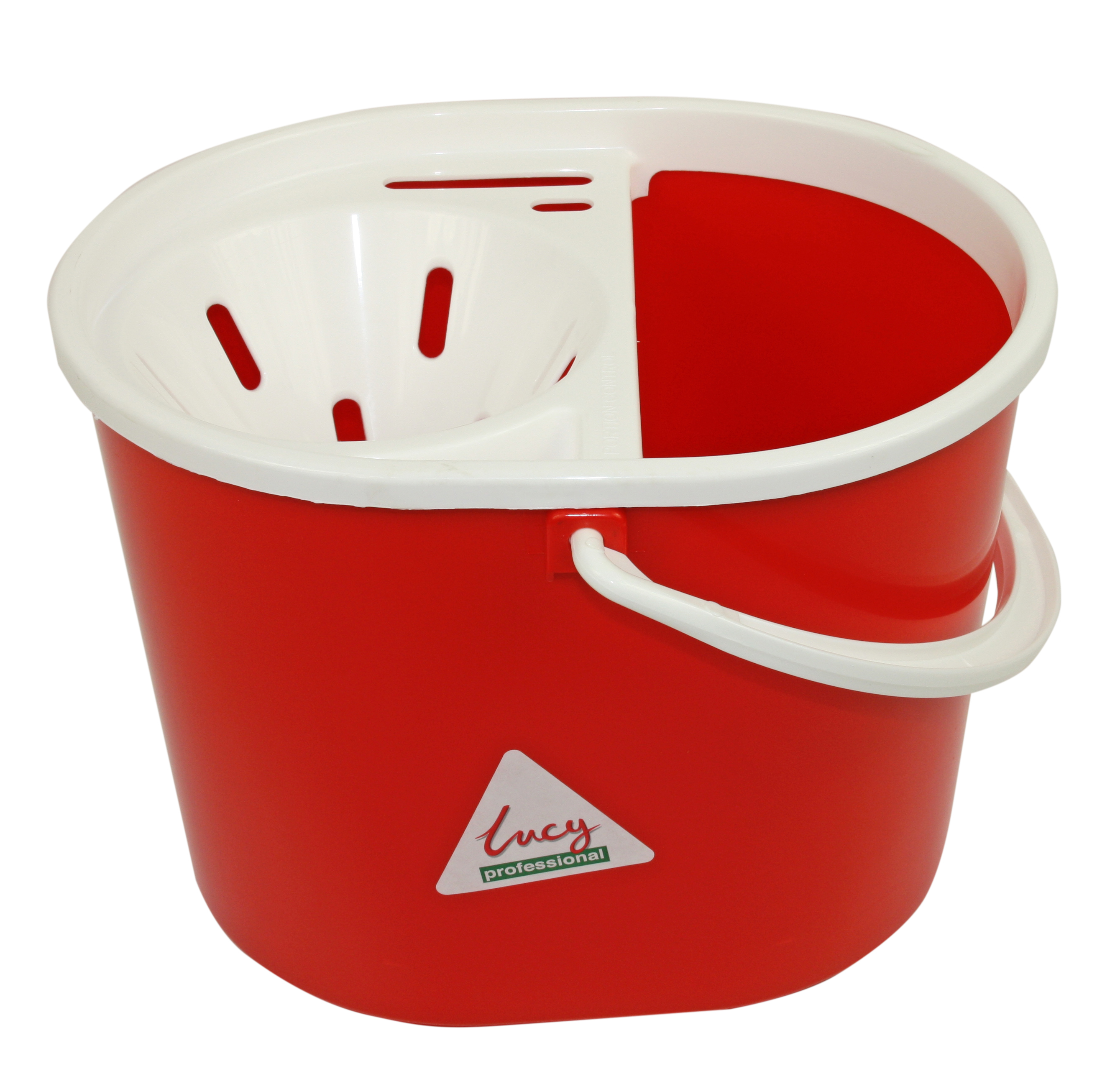 Bucket Mop Lucy Do-It-All 15Lt With Wringer 1405291 (Red)