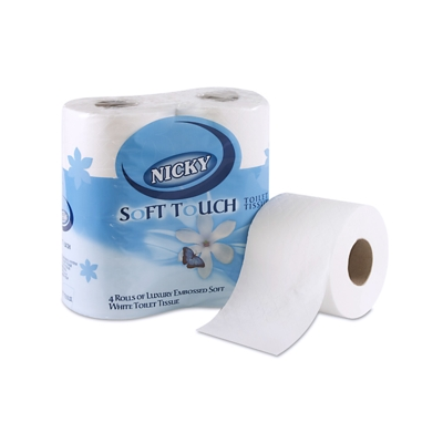2 Ply Coral Luxury Toilet Roll (10 x 4)