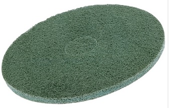 "14"" Green Buffing Floor Pads (Pack Of 5)"