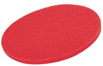 "14"" Red Buffing Floor Pads (Pack Of 5)"