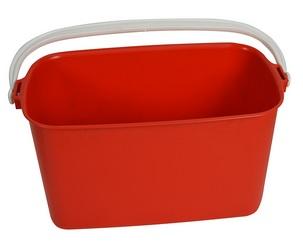 Bucket Red Rectangular Window  9Lt. 11/5356 **