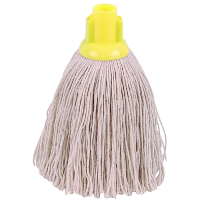 Yellow Twine Socket Mop Head