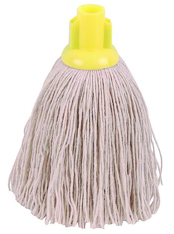 Yellow Twine Socket Mop Head