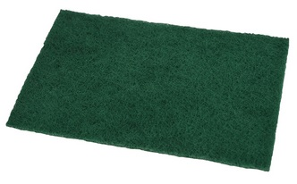 "Green Abrasive Pad 6"" x 9"" Ref 9096  Cat:11/048794"