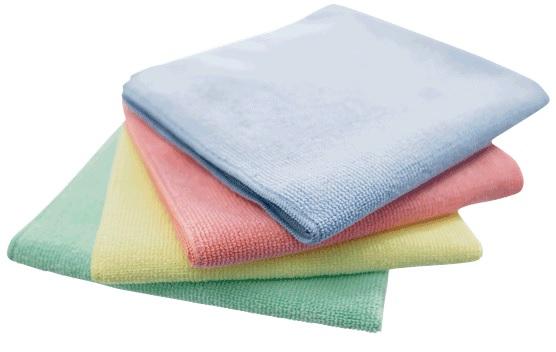 Green Microfibre Cloths General Use Cat: 36/107223