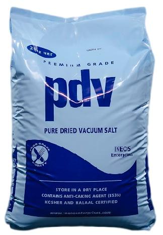 PDV Salt 25Kg Bag PDV0025 Material Code: HS40B
