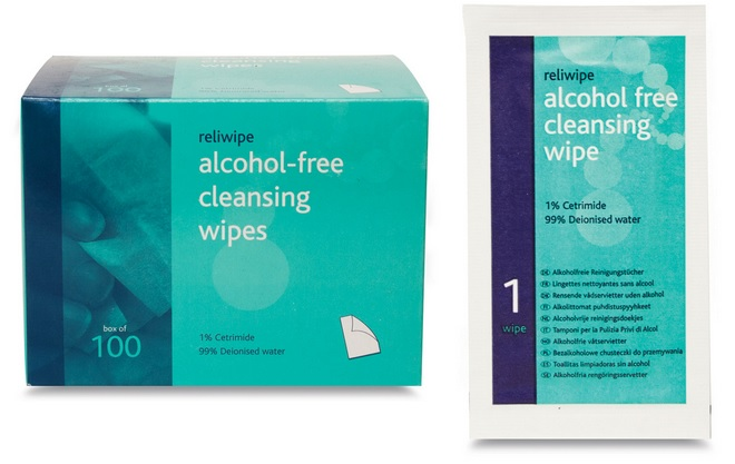 Alcohol Free Wipes 34/013061