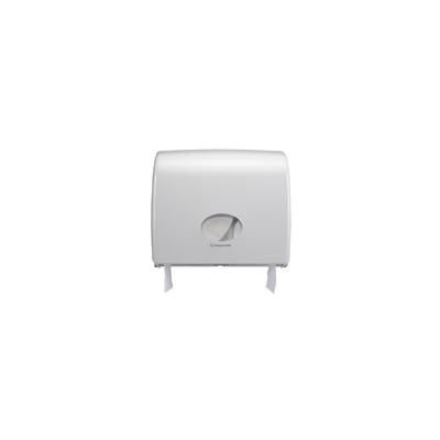 "Maxi Jumbo Plastic Dispenser 14"" White"