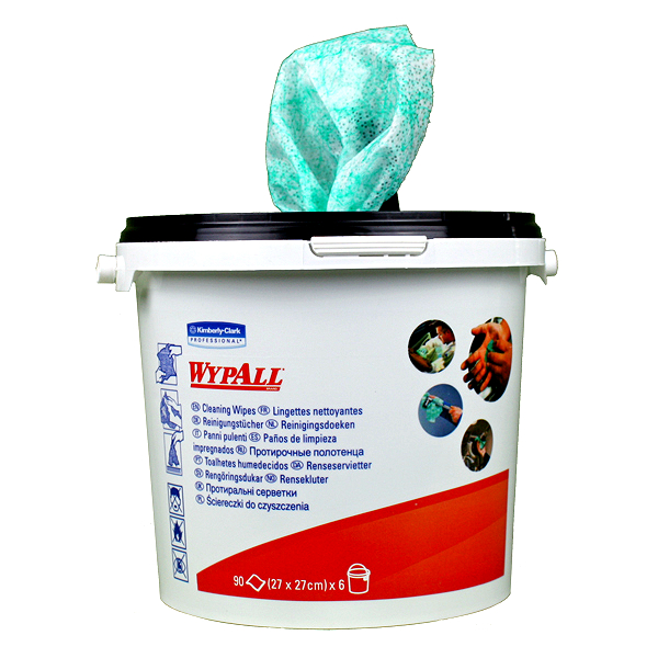 Wypall Cleaning Wipes 1 Bucket 90 Sheets