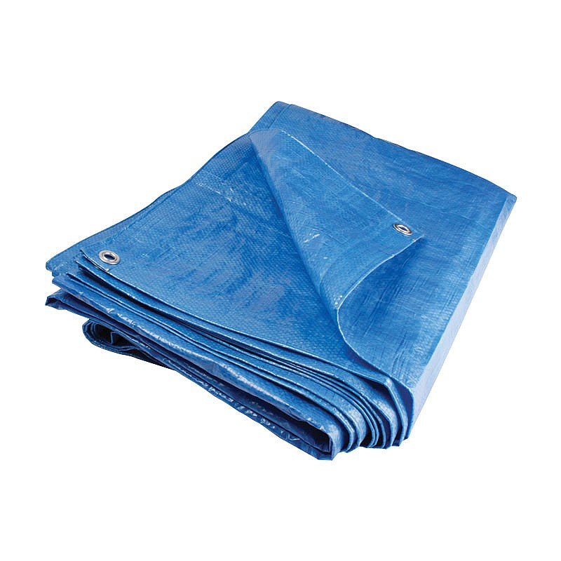Tarpaulin 15' x 12' Blue Sheeting