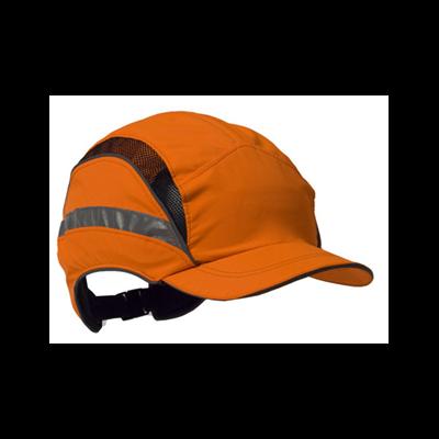Baseball Style Bump Cap Hi Vis Orange 3M EN812 Cat: 44/150055