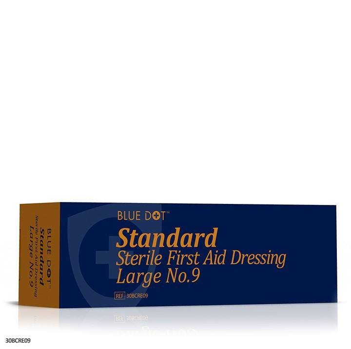 No 9 Large Dressing Sterile Cat: 34/100722
