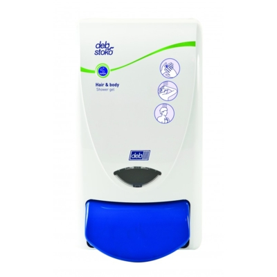 Deb 1 Litre Dispenser for Hair and Body Wash