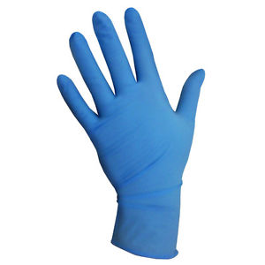 Blue Powder Free Nitrile Gloves - Small  44/150438