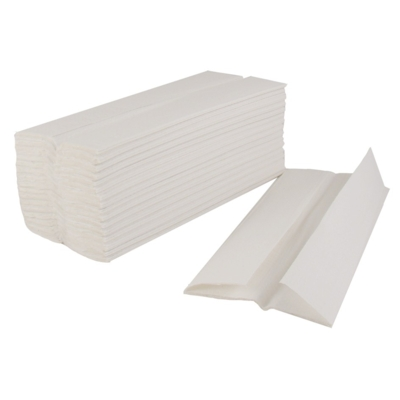 In-Flight-White Hand Towels 2 Ply 34/150022 (36/121008)