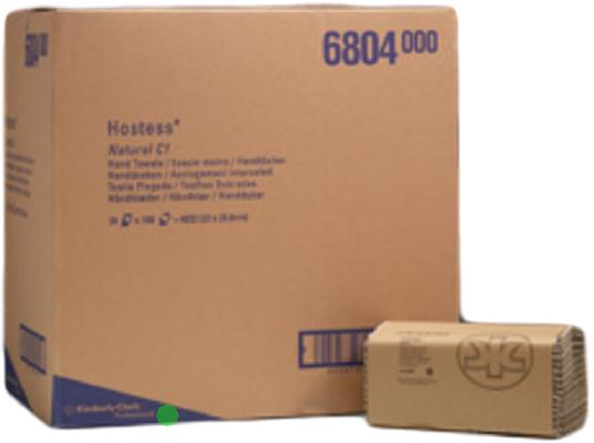 Brown/Natural Paperkc6804 Hand Towels (24X168) 34/101800