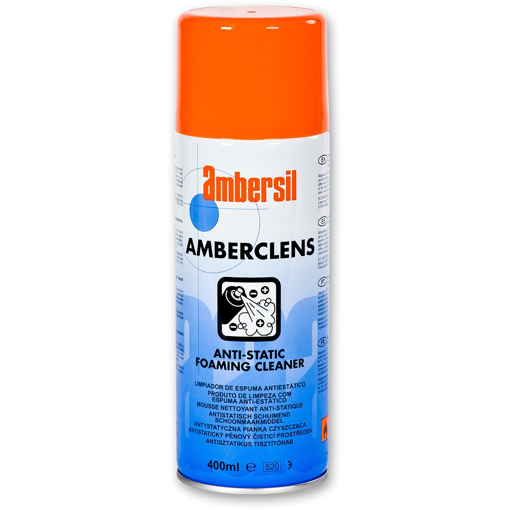 Amberclens Anti Static Foaming Cleaner 400ml Cat: 7/007056