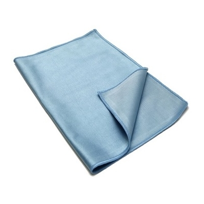 Blue Glass Microfibre Cloth Windows and Glass - Blue