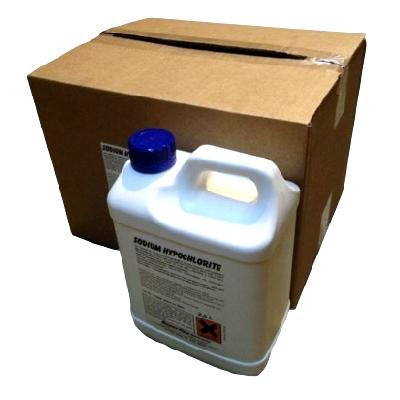 Sodium Hypochlorite Bleach 2.5 Ltr (5 Per Box) 7/18228
