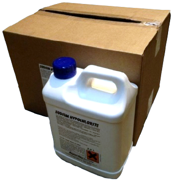 Sodium Hypochlorite Bleach 2.5 Ltr (5 Per Box) 7/18228