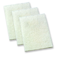 "White Non Abrasive Pad 6"" x 9"" 10 Pack Ref 9200 Cat:11/48816"