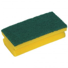 Abrasive Foam Pad Ref: 0291 Green/Yellow Finger Grip